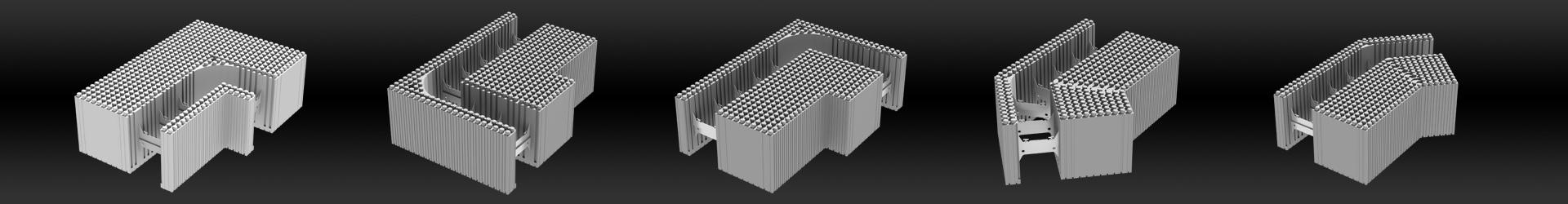 wandsystem 45 cm. Black Bedroom Furniture Sets. Home Design Ideas