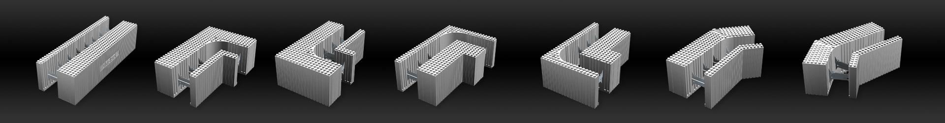 wandsystem 35 cm. Black Bedroom Furniture Sets. Home Design Ideas